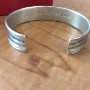 Sterling Anything is Possible Cuff Bracelet
